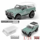 CCHand Rear Bucket Roof Convert to SUV for SCX24 C10 1/24 RC CAR TOY PART ABS