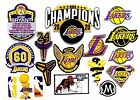 NB A Basketball Los Angeles Lakers,Sport Patches Logos Iron,Sew on.fabrics