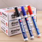 Writing board Marker Pens Dry Erase Easy Wipe- Black / Blue / Red US Supplier