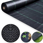 Weed Control Fabric Landscaping Ground Cover Membrane | 1m-4m Wide to 100m Long