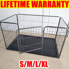 Dog Cage Pet Puppy Crate Carrier Home Folding Door Training Kennel S M L XL NEW
