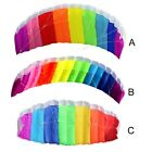 Rainbow Dual Line Kite Braid surf Adults Outdoor Fun Sports Ripstop Flying Toys