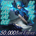 League of Legends LOL Account 50.000❄️60.000 BE Unranked Smurf Level 30