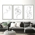 Abstract+Lady+Wall+Art+Canvas+Painting+Wall+Posters+Minimalist+Living+Room+Decor