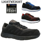 MENS LADIES LIGHTWEIGHT STEEL TOE CAP SAFETY WORK TRAINERS SHOES BOOTS SIZE UK