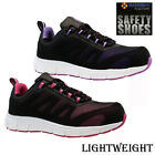 LADIES LIGHTWEIGHT SAFETY TRAINERS STEEL TOE CAP WORK HIKING SHOES BOOTS SIZE