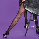 Contrast Seamed Tights By Silky, Variety of colours