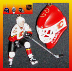 NHL CALGARY FLAMES HOCKEY GOALIE MASK & JAROME IGINLA FIGURE CEILING FAN PULLS $21.99 USD on eBay
