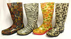 Womens Ladies  Rubber  Wellies Wellys Wellington Boots