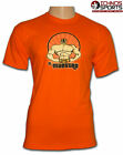 El Maestro Mexican Lucha Libre Wrestling adult size orange t shirt