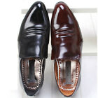 New Leather Modern Dress Loafers Mens Shoes