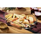 NEW Oval Tempered Glass Oven Serving Dish In 1.7 Or 3 Litre - Clearance Offer !!