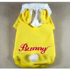 Pet&Dog Clothes Bunny Ears Hoodie Shirt Rabbit Coat,C65