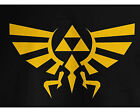 Zelda T-Shirt Hyrule Royal Crest Tee Triforce T Game