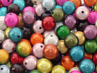 5 x 20mm acrylic miracle beads