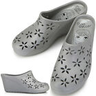 New Trend Grey Wedge-Heel Womens Jelly Shoes