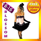 8811 Burlesque Pink Moulin Corset Skirt 8 10 12 14
