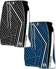 "MENS STRIPE SHORTS swim swimming pool 30"" 32"" 34"" 36"""