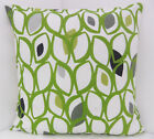 50S STYLE GREEN GREY BLACK CREAM KHARKI CUSHION COVERS