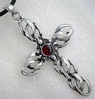 CHAIN KNOT MAGIC CROSS GOTHIC Pewter Pendant/Key Chain