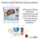 AllerZip Anti Allergy Bedbug Proof Pillow Protectors