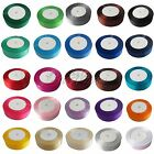 "1 Roll 25 Yards 23m 1"" 25mm Satin Ribbon Craft Wedding Favor Decor Colors U Pick"