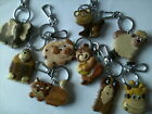 Wooden Keyring  - ANIMALS