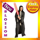 C339 Mens Star Wars Hooded Economy Sith Robe Halloween Costume