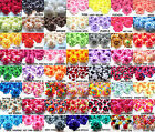 "(100pcs) Artificial Rose Heads 1.75"" - Fabric - Silk Artificial Flowers Bulk Lot"