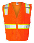 ML Kishigo Reflective Safety Vest, Lime Green or Orange, M-5XL (1163-1164)