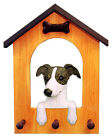 Italian Greyhound Dog House Leash Holder. In Home Wall Decor Products & Gifts.