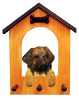 Leonberger Dog House Leash Holder. In Home Wall Decor Wood Products & Dog Gifts.