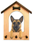 Belgian Malinois Dog House Leash Holder.In Home Wall Decor Wood Products & Gifts