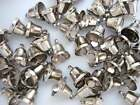 """24 Small 1/2"""" Craft Jingle Bell Christmas/Bow/embellishment/ornament M6-Silver"""