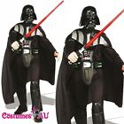 New Rubies Licensed Darth Vader Costume Deluxe Adult Mens Star Wars Vader