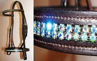 FSS Crystal WOW Browband Noseband BLING SHOW BRIDLE MADE WITH SWAROVSKI ELEMENTS