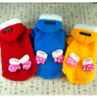 Dog&Cat Clothes Hoodie Coats,Fleece Jacket Snowsuit Fuzzy Sweater_D300