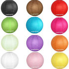 6pcs Optional-Colors Paper Lanterns Lamps Wedding Decorations 8""