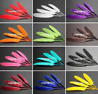100pcs goose feathers various-colors available wedding confetti 10-15cm