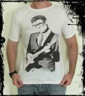 **Buddy Holly T-Shirt** Unisex Retro Rock Vest Tank Top **Sizes S M L XL**