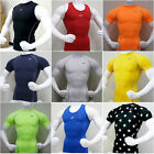 Mens Kompression Under Base Layer Top Tight Short Sleeve T-Shirts Collection #2