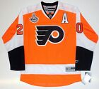 CHRIS PRONGER PHILADELPHIA FLYERS 2010 STANLEY CUP REEBOK PREMIER JERSEY NEW