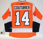 SEAN COUTURIER PHILADELPHIA FLYERS RBK JERSEY REAL