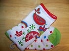 Holiday Bells & Doves Socks - Choice of Size!