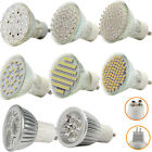 12 X GU10 MR16 21/38/48/60/3W/4W LED SMD BULBS DAY WARM WHITE SPOT LIGHTS BULB