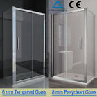 Quality Sliding Shower Enclosure Door Cubicle Side Panel Stone Tray Free Waste B
