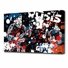 0926 OASIS  Canvas Wall Art Print Music Abstract Noel