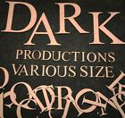"""Various Size 10 mm thick  wooden MDF Single letters  """"10-30cm"""" Times New Roman"""