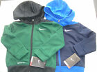 NIKE NWT Zip Up Jacket Hoodie Warm Up Track Therma Fit Black Green 2 2T RV$44