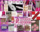 HEN NIGHT PARTY ACCESSORIES Fancy Dress GAMES Novelties WILLY STRAWS SASHES
